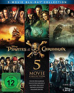 Fluch Der Karibik 1-5 - Limitierte Auflage Blu-ray