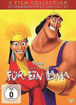Ein Königreich für ein Lama & Ein Königreich für ein Lama 2: Kronks großes Abenteuer DVD