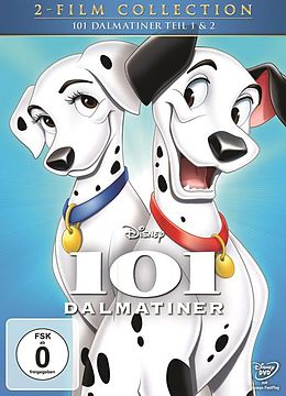 101 Dalmatiner & 101 Dalmatiner - Teil 2: Auf kleinen Pfoten zum großen Star! DVD