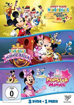 Micky Maus Wunderhaus - Jetzt wirds bunt! & Minnie-Rella & Popstar Minnie DVD