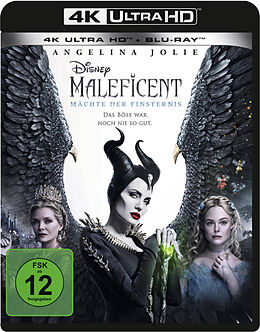 Maleficent - Mächte der Finsternis - 4K + 2D Blu-ray UHD 4K + Blu-ray