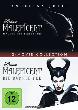 Maleficent 1+2 DVD