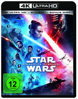Star Wars - Der Aufstieg Skywalkers Blu-ray UHD 4K + Blu-ray