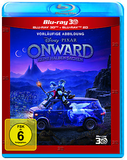 Onward - Keine halben Sachen Blu-ray 3D