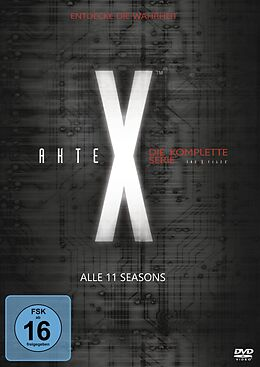 Akte X - Staffel 1-11 / Komplettbox DVD