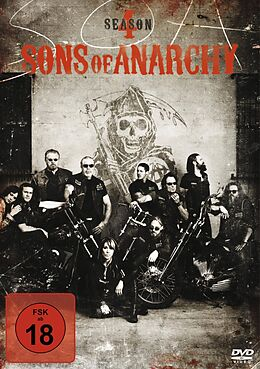 Sons of Anarchy - Season 4 / 2. Auflage DVD