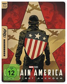 Captain America - The First Avenger - 4K UHD Mondo Steelbook Edition Blu-ray UHD 4K + Blu-ray