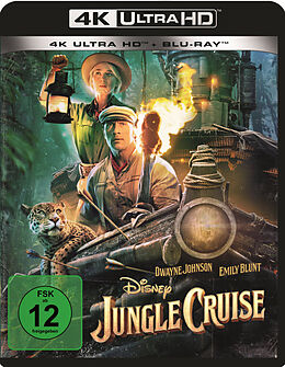 Jungle Cruise Blu-ray UHD 4K + Blu-ray