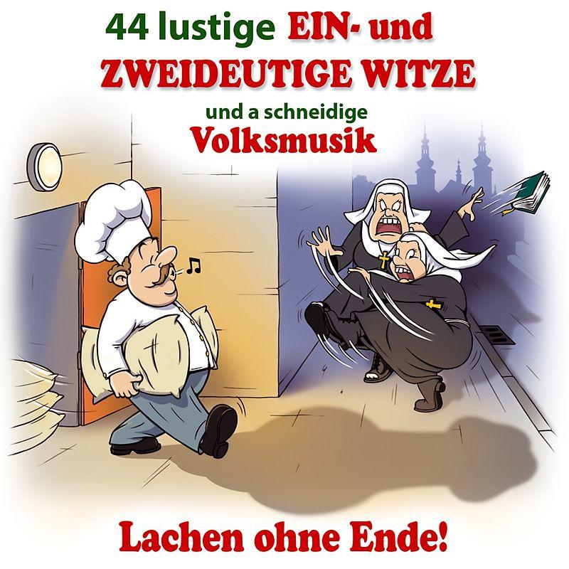 44 Lustige Ein-U.Zweideutige Witze U.Vm - Various