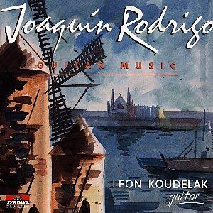 Joaquin Rodrigo-Guitar Music