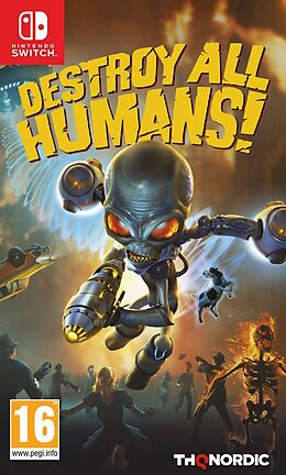 Destroy all Humans [NSW] (F/I) comme un jeu Nintendo Switch