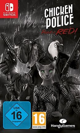 Chicken Police: Paint it RED! [NSW] (F/I) comme un jeu Nintendo Switch