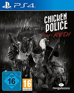 Chicken Police: Paint it RED! [PS4] (D) als PlayStation 4-Spiel