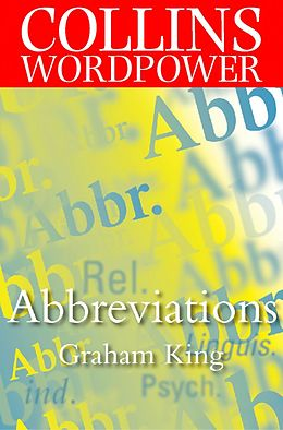 E-Book (epub) Abbreviations (Collins Word Power) von Graham King