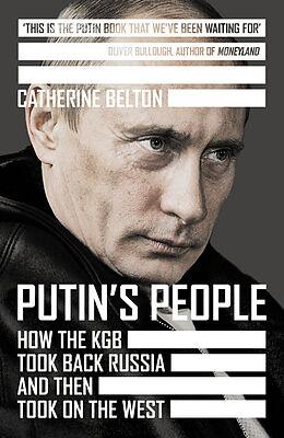 Kartonierter Einband Putin's People von