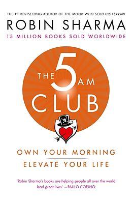 Kartonierter Einband The 5 am Club von Robin Sharma