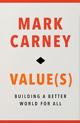 Kartonierter Einband Value(s) von Mark Carney