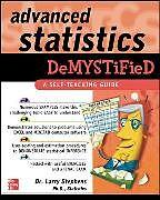 Kartonierter Einband Advanced Statistics Demystified von Larry Stephens
