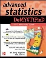 E-Book (epub) Advanced Statistics Demystified von Larry J. Stephens