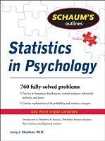 E-Book (epub) Schaum's Outline of Statistics in Psychology von Larry J. Stephens