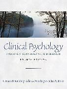 Kartonierter Einband Clinical Psychology von Norman D. Sundberg, Allen A. Winebarger, Julian R. Taplin