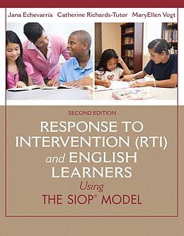 Kartonierter Einband Response to Intervention (RTI) and English Learners von Jana Echevarria, Cara Richards-Tutor, MaryEllen Vogt