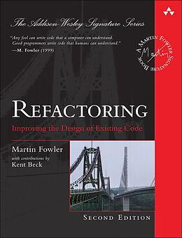 Fester Einband Refactoring von Martin Fowler