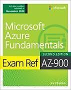 Couverture cartonnée Exam Ref AZ-900 Microsoft Azure Fundamentals de Jim Cheshire