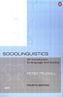 Kartonierter Einband Sociolinguistics von Peter Trudgill