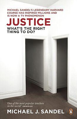 Kartonierter Einband Justice von Michael J. Sandel