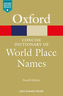 E-Book (epub) The Concise Dictionary of World Place-Names von John Everett-Heath