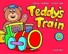 Kartonierter Einband Teddy's Train: Activity Book A von Lucia Tomas, Vicky Gil