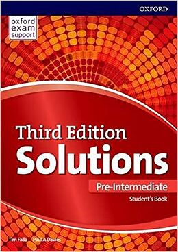 Kartonierter Einband Solutions: Pre-Intermediate: Student's Book von Paul Davies, Tim Falla