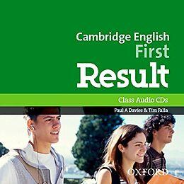 Compact Disc Cambridge English First Result Class CDs MP3 von Paul A.; Falla, Tim Davies