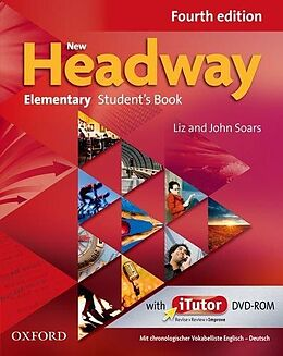 New Headway. Fourth Edition. Elementary. Student's Book Pack mit Vokabelliste Englisch-Deutsch [Version allemande]