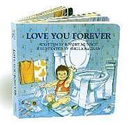 Pappband, unzerreissbar Love You Forever von Robert Munsch