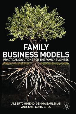 Fester Einband Family Business Models von Alberto Gimeno, Gemma Baulenas, Joan Coma-Cros