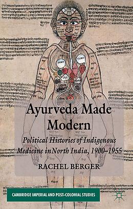 Fester Einband Ayurveda Made Modern von R. Berger
