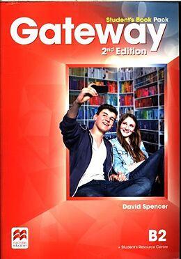 Kartonierter Einband Gateway 2nd Edition B2 Student's Book Pack von David Spencer