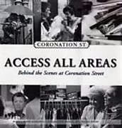 """Fester Einband Access All Areas.""""Coronation Street"""" von David Hanson"""