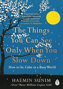 Kartonierter Einband The Things You Can See Only When You Slow Down von Haemin Sunim