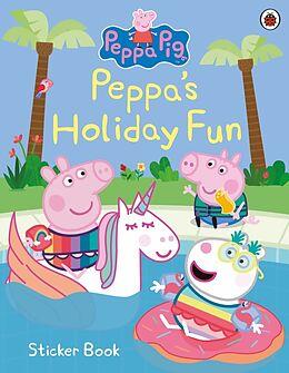 Couverture cartonnée Peppa Pig: Peppa's Holiday Fun Sticker Book de Peppa Pig