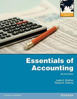 E-Book (pdf) Essentials of Accounting:International Edition von Leslie K. Breitner, Robert N. Anthony