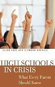 Fester Einband High Schools in Crisis von Ellen Hall, Richard Handley