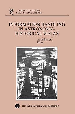 E-Book (pdf) Information Handling in Astronomy - Historical Vistas von