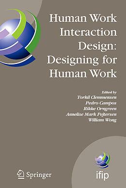 E-Book (pdf) Human Work Interaction Design: Designing for Human Work von