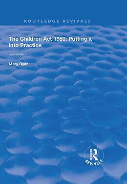 E-Book (epub) The Children Act 1989 von Mary Ryan