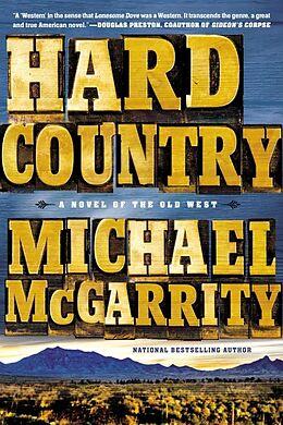 Kartonierter Einband Hard Country von Michael McGarrity