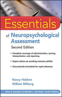 E-Book (epub) Essentials of Neuropsychological Assessment von Nancy Hebben, William Milberg