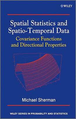 Fester Einband Spatial Statistics and Spatio-Temporal Data von Michael Sherman